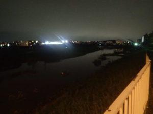 台風19号:鳥山川